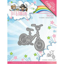 Yvonne Creations Stanzschablone Tots & Toddlers Tricycle Dreirad  Baby
