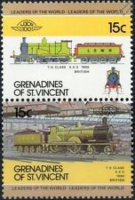 1899 LSWR T9 Class Greyhound 4-4-0 London & South Western Train Stamps / LOCO 10