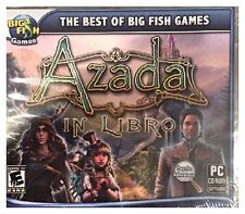 Azada: In Libro (PC) BRAND NEW SEALED - FREE U.S. SHIPPING - WIN10, 8, 7, XP