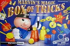 Marvin's Magic BOX of TRICKS Young Magicians 125 Tricks New in Box