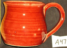 Large Hand Made Tossed Thrown Cup Mug  -  Seattle Ceramic Studio  -  Fayze Art