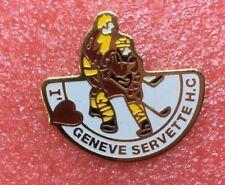 Pins HOCKEY CLUB H.C GENÈVE SERVETTE Ice Skating Hockey Glace