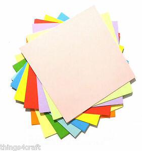 Origami Paper  Square Approx 100 Sheets per pack 3 sizes to choose from