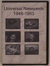 Universal Newsreels 1948-1953 DVD FREE SHIPPING!!