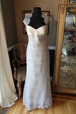 A415 AMSALE C409 SZ 10 TAUPE $799 FORMAL PARTY GOWN DRESS