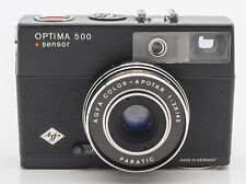 Agfa Optima 500 sensor Sucherkamera Kamera Agfa Color Apotar 1:2,8 42mm Optik