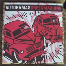 "AUTORAMAS/GREEN MACHINE split 7"" NEW late-00's garage-punk Groovie import"