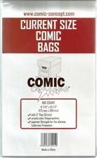 50x Current/Modern Age Comic Concept Bags