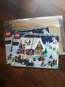 Lego 10229 Winterliche Hütte Bauanleitung, KEINE STEINE NEU