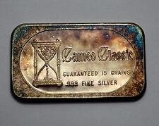 "1Troy Oz  .999 Silver Bar ""CAMEO CLASSIC"" ""CONGRATULATION  ON GRADUATE"""
