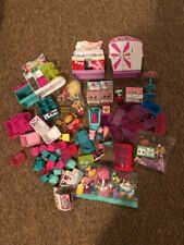 Huge Lot Of Shopkins Toys Accessories Used For One Money