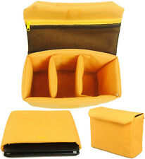 Universal Waterproof DSLR Camera Bag Partition Padded Insert Case Cover Pouch