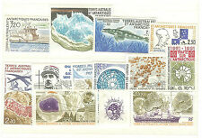 TIMBRES TAAF ANNEE COMPLETE 1991  NEUFS ** COTE € 39,00
