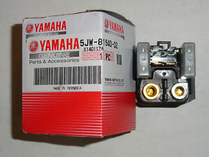 Starter Start Relay Switch OEM Yamaha YFZ450 YFZ 450 YZF R1 1000 FJR 1300 XV