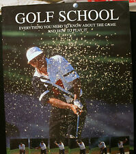 GOLF BOOK, GOLF SCHOOL, LEDESMA, VERY LARGE COFFEE TABLE, HOW TO PLAY
