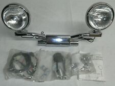 GENUINE 2004-2008 HONDA VTX1800 N R S T CHROME LIGHTBAR PASSING LAMPS 04-08