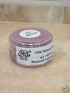 1 bottle THK 0.5 micron Diamond polishing lapping paste pastes compound 20 Gram