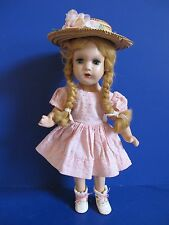 "SWEET! Madame Alexander McGuffey Ana, 1937 Composition Doll 14"", Antique Outfit"