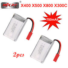 MJX X400 2.4GHz 6 Axis Gyro RC Helicopter Spare Parts 3.7V 750mAh Lipo Battery