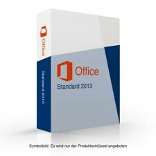 Microsoft Office 2013 Standard Key + Downloadlink 32Bit/64Bit x86 x64 MS STRD