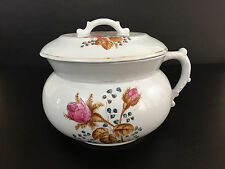 Antique Johnson Bros chamber pot Royal Ironstone China 1890's England
