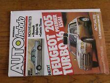 $$$ Revue Auto hebdo N°445 Peugeot 205 Turbo 16LarrousseBMW M 535iAlpine V