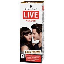 Schwarzkopf Dark Brown Hair Colouring