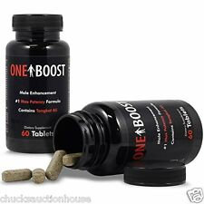 One Boost Testosterone Booster  - Enhancement Pills - Fast Restore Low T Libido