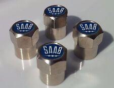 Neumático de aleación de coche Saab tapas de la válvula para Válvulas de Neumáticos