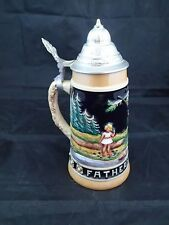 Schmid Limited Edition Father's Day 1974 Beer Stein West Germany