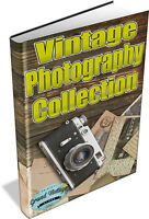 223 VINTAGE PHOTOGRAPHY BOOKS on DVD - Camera, Art, Photos, Lense Tips, Film