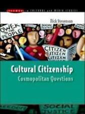 Cultural Citizenship: By Stevenson, Nick