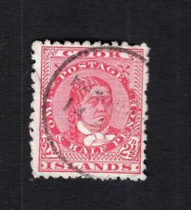Cook Islands 1893 stamp SG#8 used CV=32,50$