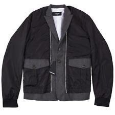 NWT $1790 DSQUARED2 Oversized Layered Jacket with Detachable Vest M (Eu 50)