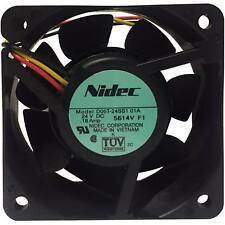 24V Case Cooling Fan 60x60x25mm  3 wires 3000RPM NIDEC