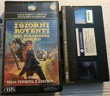 VHS - I GIORNI ROVENTI DEL POLIZIOTTO BUFORD di Earl Bellamy [DOMOVIDEO]