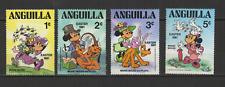 Anguilla 4 timbres neufs Walt Disney Mickey Minnie /T3059