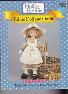 Holly Hobbie          Holly Hobbie doll head and instructions books