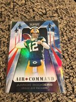 2019 Panini Playoff Air Command #8 Aaron Rodgers - Green Bay Packers