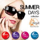 QUTIQUE Gel Nail Polish Colour Pack/Set/Kit -SUMMER DAYS -Pro Quality