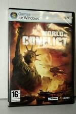 WORLD IN CONFLICT GIOCO USATO OTTIMO STATO PC DVD VERSIONE ITALIANA SC2 40328