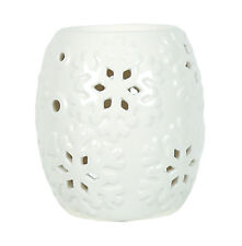Village Candle - SNOWFLAKE AROMA WAX MELT BURNER 10cm - For Use With Wax Melts