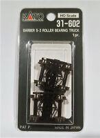 Kato HO 31602 Barber S-2 Roller Bearing Truck 1 Pair. New