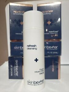 Skin Better Science (3) Interfuse Intensive Treatment Lines 1oz. & Cleanser 5oz