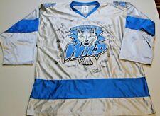 Wenatchee Wild Throwback Style Hockey Jersey Signed Autographed Team XXL 2XL