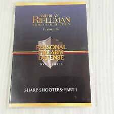 NRA American Rifleman DVD Sharp Shooters Part 1 Personal Firearm Defense