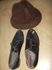 1954 ORIG HAT & DANCE SHOES Capezio from The Pajama Game OWNED BY EDDIE FOY JR