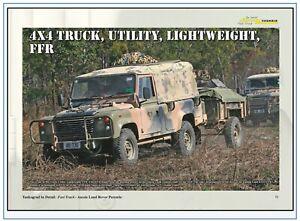 FT-07 Perentie-der Landrover der australischen Armee,Tankograd im Detail, NEU&