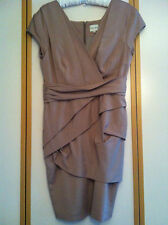 NEW Reiss Lola Cappuccino Dress Shola Dress Pink Rosé Dusky Pink Pastel Baby Pink
