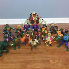 TMNT Teenage Mutant Ninja Turtles and Villains Hug Action Figures Bandai Lot